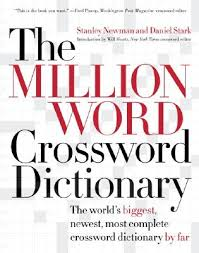 the million word crossword dictionary newman stanley and stark daniel