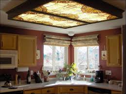 Great Image Of: Modern Kitchen Fluorescent Light Fixtures Amazing Ideas