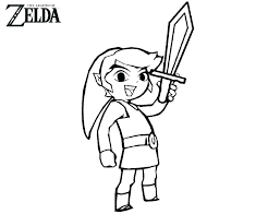 Discover these zelda coloring pages. Free Printable Zelda Coloring Pages For Kids