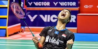 25 juli anthony sinisuka ginting vs gergely krausz (hungaria) 28 juli anthony sinisuka ginting vs sergey sirant (rusia) 28 juli jonatan christie vs aram mahmoud (ioc refugee olympic team) China Open 2018 Anthony Ginting S Grit Tactical Acumen On Show In Title Win Carolina Marin Reigns Supreme Sports News Firstpost