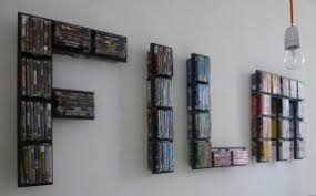 Dvd wall rack