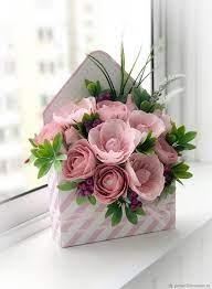 Купить Конверт с конфетами «Красивое послание-2» - розовый, оригинальный  подарок, сладкий букет | Birthday flowers bouquet, Birthday flowers,  Flowers bouquet gift