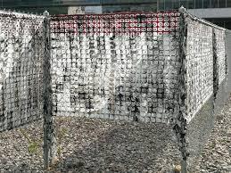 Chain Link Fence Art Fence 8 Diy Chain Link Fence Art trashtrucksorg