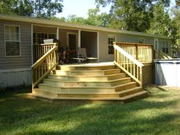Deck Designs For Manufactured Homes Front Porch Designs For Double Wide Mobile Homes Lovely