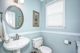 chair rail bathroom. Powder Chair Rail Bathroom
