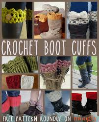 Free Crochet Boot Cuff Patterns New 48 Hot And Free Boot Cuff Patterns To Make Today