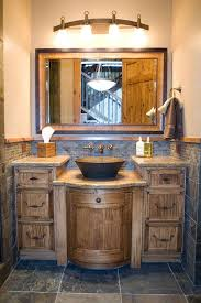 Rustic Bathroom Vanity Lights Mesmerizing Rustic Bathroom Vanities Reclaimed Wood Rustic Bathroom Vanities