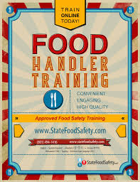 Training Flyer Food Safety Training Promotional Flyer