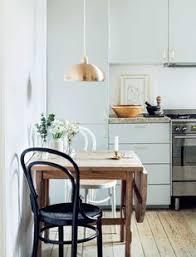 f o r t f i e l d small antique table for breakfast area pale blue