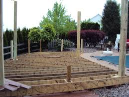 a low deck can be a cost effective alternative to hardscaping especially when the