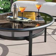 round glass patio table outdoor glass tables glass patio table replacement ideas