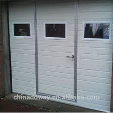 gl garage doors with pedestrian door