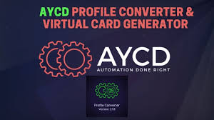 Maybe you would like to learn more about one of these? Aycd Profile Converter How To Generate Virtual Credit Cards And Import Existing Virtual Cards Youtube