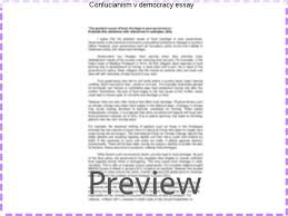 confucianism v democracy essay research paper writing service confucianism v democracy essay confucianism law and democracy in contemporary korea by sungmoon