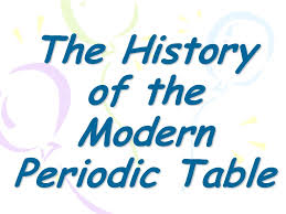 The History of the Modern Periodic Table - ppt video online download
