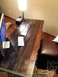 office desks office desk diy rustic homemade desks corner