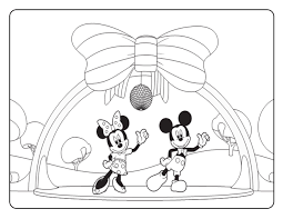Mickey Mouse Clubhouse Coloring Pages Get Coloring Pages