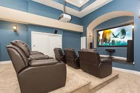 paint colors for basements10 Awesome Basement Home Theater Ideas