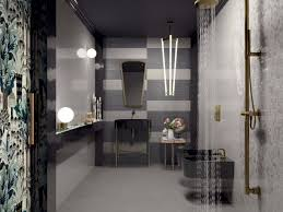 modern bathroom tile design. Exellent Tile View In Gallery Stylish Tow Toned Work Tiles By Ceramiche Marca Corona  900x675 These Modern Bathroom Tile Designs Will Intended Design S