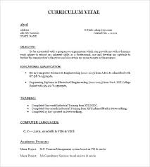 Sample Resume Pdf Custom Sample Resume For Bba Freshers Pdf Formats Letsdeliverco