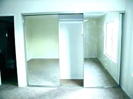 how to install closet doors clever bypass over carpet installing sliding for small bedroom door ideas