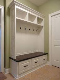 Entry Storage Bench With Coat Rack Magnificent Mudroom Storage Benches Coat Hooks Mudroom Storage Bench With Coat