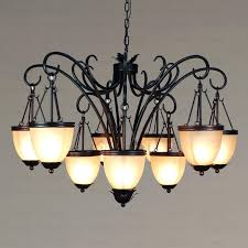 black rustic candle chandelier classic photo