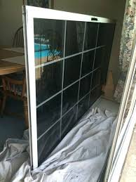 adjust rollers sliding glass patio door repair weather stripping track replacement screen