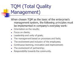 total quality management paper acirc order custom essay help economics paper