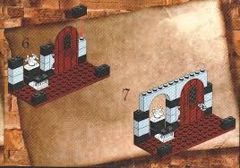 harry potter bathroom lego 4712