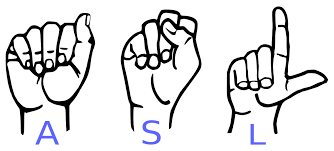 Upcoming Events Intro To American Sign Language