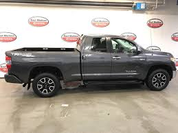 2016 Used Toyota Tundra Limited Double Cab 5.7L V8 FFV 4WD 6-Speed ...