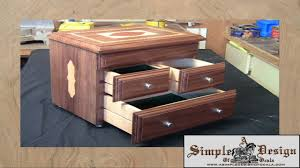 making an inlay jewelry box part 2