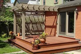 Small Picture backyard decking ideas Easy Backyard Deck Ideas for Small