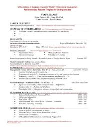 Certified resume templates recommended by recruiters. Sample Resume For College Students Still School Looking Internship Hudsonradc
