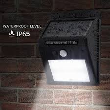 20 led solar powered pir motion sensor light waterproof outdoor garden wall lamp 1 of 12free