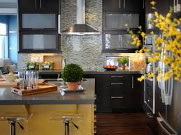 Yellow And Brown Kitchen Blue Kitchen Paint Colors Pictures Ideas Tips From Hgtv Hgtv