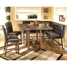 tall dining room sets corner counter height dining room set signature design tall dining room tables