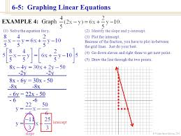 william james calhoun 2001 6 5 graphing linear equations you have now