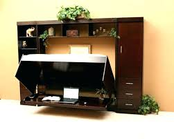 wall unit with drop down desk lovely bed pull wondrous the original storage
