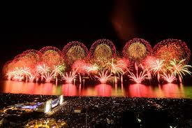 rio de janeiro staged a massive firework display to welcome in 2016 the year the