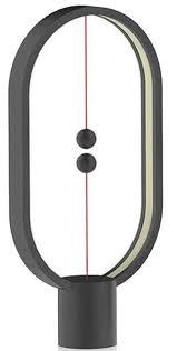 Купить <b>настольная лампа Allocacoc</b> Heng Balance Ellipse (Black ...