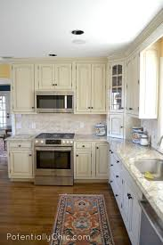 general finishes milk paint kitchen cabinets. wood prestige cathedral door hazelnut general finishes milk paint kitchen cabinets backsplash subway tile travertine countertops sink faucet island i