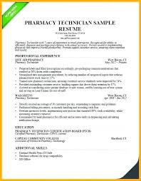 Pharmacy Resume Examples Impressive Pharmacy Technician Resume Skills New Example Pharmacist Resume