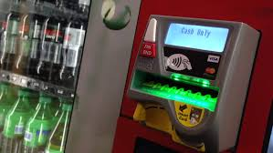 Vending Machine Card Payment Interesting Coquitlam Bc Canada May 48 Stock Video HD RoyaltyFree