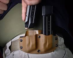 Kydex Magazine Holder Double Pistol Magazine Pouch 40