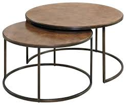 hammary coffee table wonderful round cocktail table in khaki industrial coffee regarding coffee table attractive hammary hammary coffee table