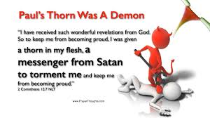 What Was Paul's Thorn in the Flesh? Images?q=tbn:ANd9GcQ12jV0CVcL_-DVxSrTiAT-BA-uplTDS_IaFxZdrPfn_wxlBk7g