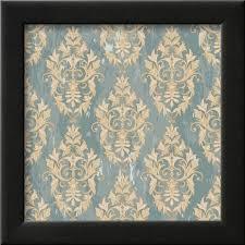 damask pattern framed print wall art by jallom on damask framed wall art with damask pattern framed print wall art by jallom walmart