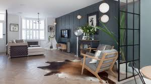 terraced house design open plan living room in terraced house image by nathalie priem